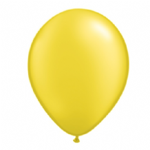 "Qualatex 11 inch Balloons - Pearl Citrine Yellow 11"" Balloons (Radiant 25pcs)"
